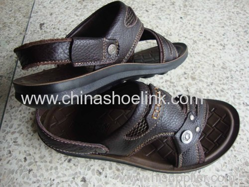 Men leather shoes from China