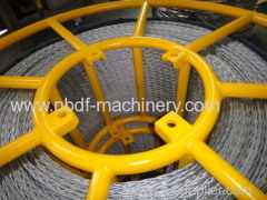 12mm Galvanized Anti Twist Pilot Wire Rope Stringing Equipment