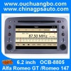 Ouchuangbo Car Radio Multimedia DVD Player for Alfa Romeo GT /Romeo 147 GPS Navigation Stereo System