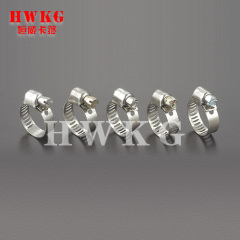 Worm Drive Hose Clamps-Mini Type(SAE)
