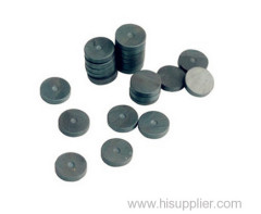 Disc Shape NdFeB Magnet Manufacturer With silver Color