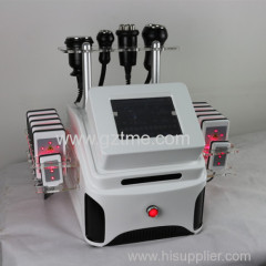 Cavitation lipo laser vacuum lymphatic drainage massage vacuum slimming machine
