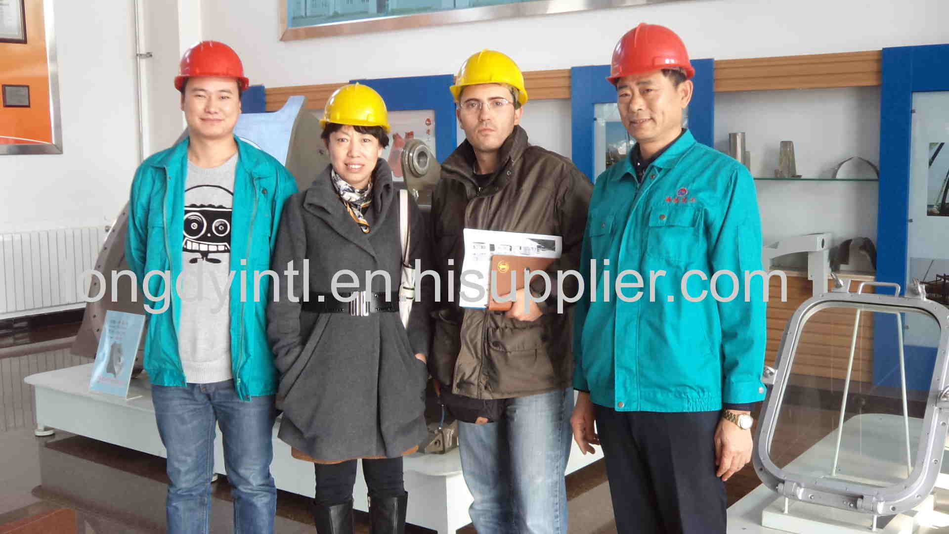 Italian customer visit our factory