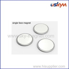 rare earth neodymium magnet with single magnetization