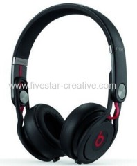 Beats by Dr.Dre Mixr 2.0 High Performance Lightweight DJ On-Ear Headphones Black