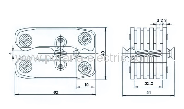 12kv  400a circuit breaker flat contact manufacturers and suppliers in china
