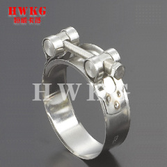 Hot steel heavy duty pipe hose clamp