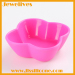 Classical silicone flower shape sushi plates