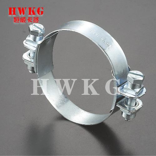 V band clamp heavy duty clamp-double head
