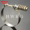 Hose clamp T-bolt clamp