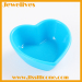 Colorful silicone sushi plate heart shape