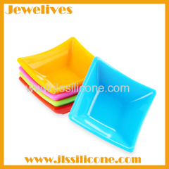 Non toxic silicone sushi plate in china