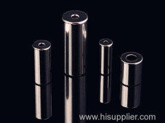 Ni coating permanent strong round magnet