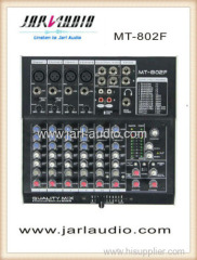 Ultra low noise 6 channels mixer/DSP effector