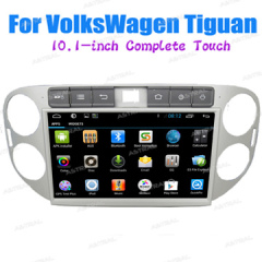 Factory Best Full Touch VolksWagen Android 2 Din Car Stereo for Tiguan HD Media system