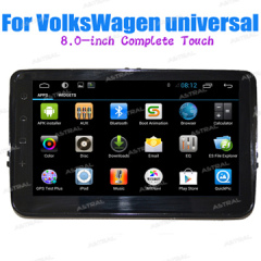 Wholesale Cheap Indash Tull Touch Car Sterio Radio Android System VW Deckless Universal