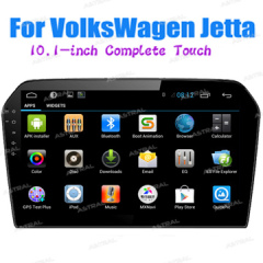 Wholesale Export Dual Din Car Multimedia Radio System VolksWagen Jetta Full Touch Navigation 10inch With TFT Screen