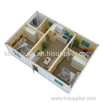 prefabricated container house 20ft