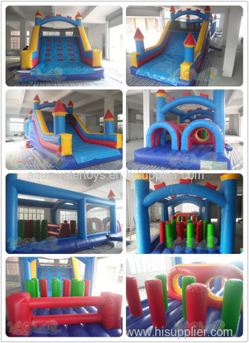 Classic Castle Inflatable Obstacle Course