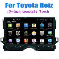 Wholesale Cheap In Dash Car Radio TV GPS Entertainment System Tull Touch Car Media Players Toyota Reiz