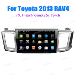 China Factory 2 Din Car Android Stereo Tull Touch System Toyota RAV4 2013 GPS Multimedia With TFT Screen
