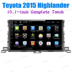 OEM Manufacturer Android 2 Din Car Stereo Audio System 10inch Navigation PlayersToyota Highlander 2015