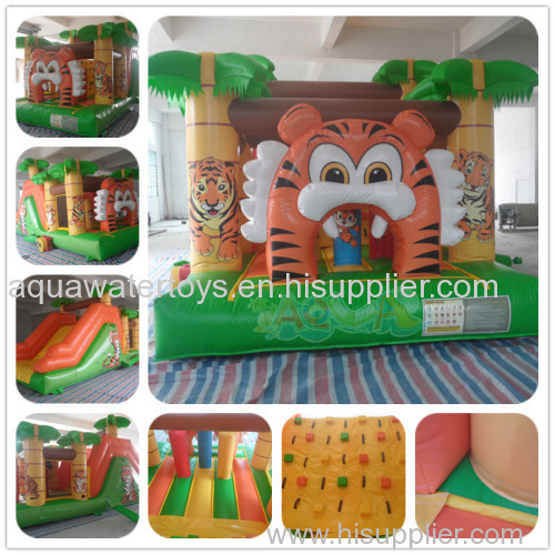 Inflatable Tiger Obstacle Course