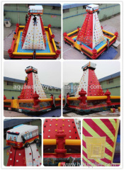 Inflatable Fire Turck Climbing Wall