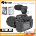 High sensitive MIC-109 microphone for camera with 3.5mm jack adapter