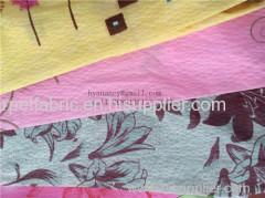 Brushed fabric la tela cepillada