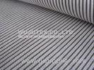 Good Quality Normal Soft Cotton Nylon Fabric / Spandex Stripe Fabric, Dobby Weave