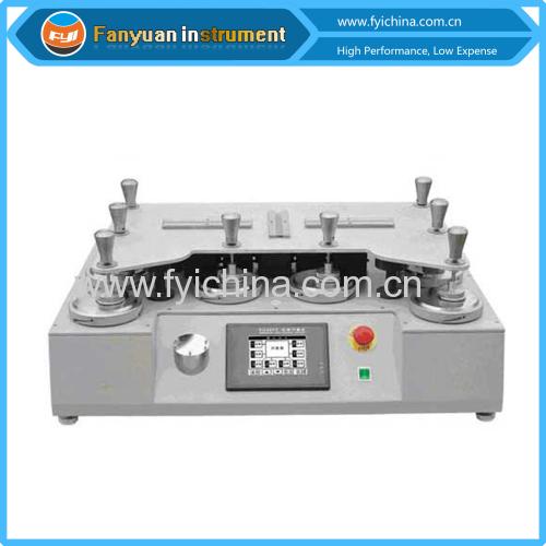 Textile martindale abrasion resistance test machine