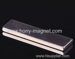 High grade neodymium cube magnet