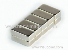 Zn coating sintered neodymium strip magnets