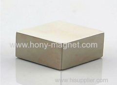 Zn coating sintered strong neo bar magnet
