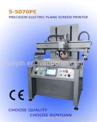 PRECISION ELECTRIC PLANE SCREEN PRINTER