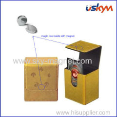 magic box with permanent magnet