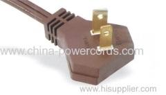 NEMA 1-15p Flat Plug with UL certificate