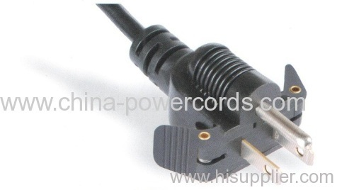 NEMA 5-15p Power Cord with Easy out
