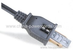 Flat Power Cord with Fuse 5A and 10A