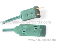 indoor use power cords with plug cap