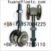 sliding gate door pulley