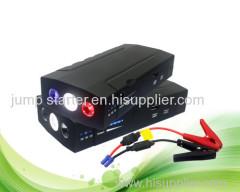 13800mAh multifunctional jump starter power bank with 12v/24v input