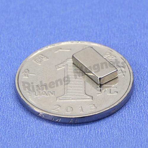 10 x 5 x 2 mm Permanent Neodymium Block Magnets N52 neodymium magnet strength