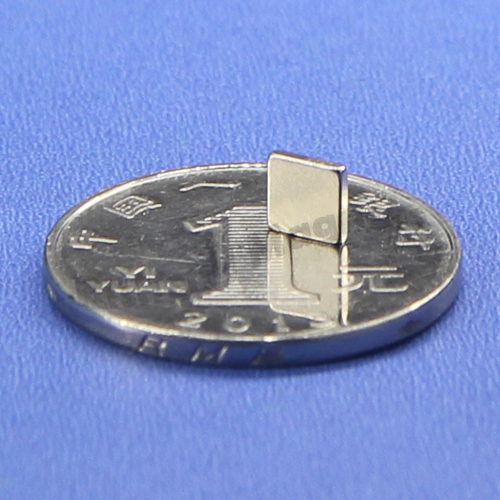 N42 magnet strength Rare Earth Neodymium Block Magnet 5 x 5 x 1mm with 3M Self Strong Adhesive