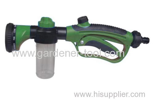 Plastic soap garden spray wand