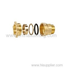 brass male threaded coupling fittings