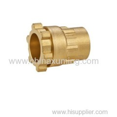 brass female threaded coupling fittings for pe pipes