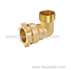 brass male elbow compression fittings