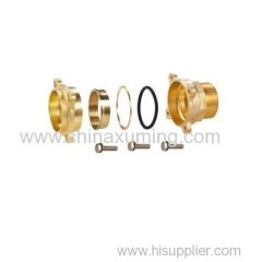 brass male coupling compression fittings for pe pipes